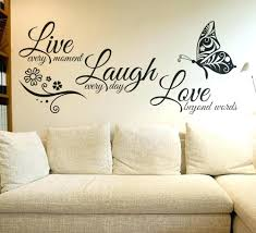 live laugh decals for the walls wall ideas wall decal artwork