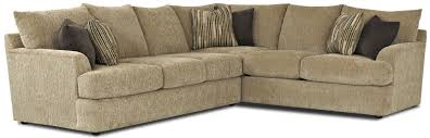 Sectional Sofa Pieces by Contemporary L Shaped Sectional Sofa By Klaussner Wolf And