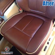 2010 ford f150 seat covers 2009 2012 ford f 150 king ranch leather seat cover driver bottom