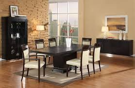 Formal Dining Room Paint Ideas by Wenge Matte Finish Modern Dining Room W Pedestal Base Table
