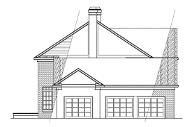colonial house plans clairmont 10 041 associated designs georgian house plan clairmont 10 041 right elevation