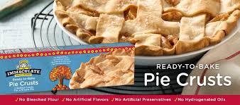 Blind Baking Frozen Pie Crust Ready To Bake Pie Crust Immaculate Baking Company Ready To Bake