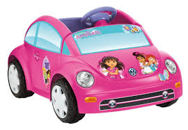 punch buggy car amazon com power wheels nickelodeon dora and friends volkswagen