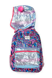 confetti animal color glow hooded backpack nordstrom rack