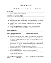 Executive Assistant Resume Template 10 Medical Administrative Assistant Resume Templates U2013 Free