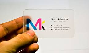Clear Business Cards Plastic Business Cards U2013 The Clear Benefits Payoo Net