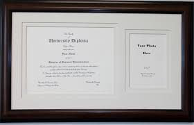 frame for diploma graduation diploma certificate photo frame matted holds