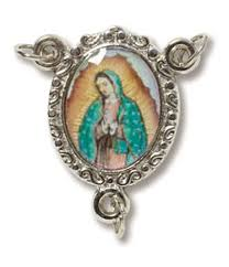 our of guadalupe rosary our of guadalupe epoxy rosary centerpiece theactsstore