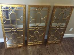 find more ballard designs mirror set very heavy 43x18 inches