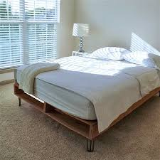 terrific hairpin leg bed 61 in home decoration design with hairpin