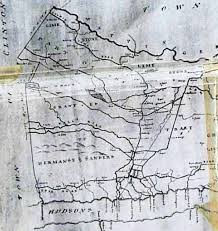 Pawling New York Map by Patent And Early Deeds
