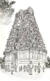 gopuram india and its cultural diversity pinterest indian