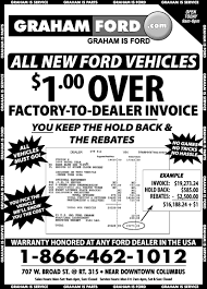 columbus ford dealers graham ford columbus ford dealer weekly newspaper ad central