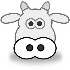 cow coloring pages cow face coloring clip art library