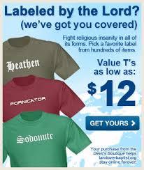 landover baptist u0027s official online gift shop