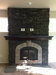 el dorado stone stacked stone black river with smoke chiseled