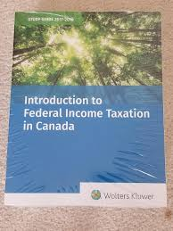 introduction to federal income taxation in canada 38th edition