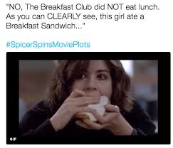 Breakfast Club Meme - breakfast club spicerspinsmovieplots know your meme