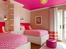 interior pink ceiling paint color for teen bedroom ideas with
