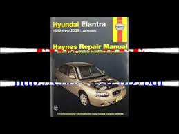 2006 hyundai elantra repair manual haynes hyundai elantra 96 06 repair manual