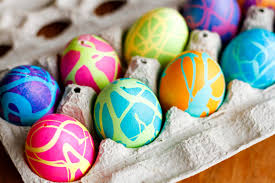blown easter eggs coloring easter eggs w rubber cement food coloring unsophisticook