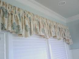 valances and swags by curtains boutique in nj shirred rod pocket valance
