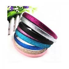 hair clasp 4pcs pack fashion glitter women hair clasp headband satin