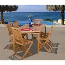 Teak Patio Dining Sets - sunjoy renaissance 7 piece patio dining set with beige cushions
