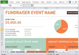 Event Budget Template Excel Fundraiser Event Budget Maker For Excel