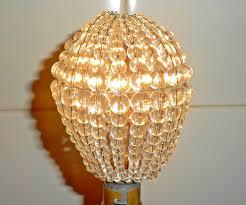 beaded crystal chandelier crystal chandelier inspired glass bead lightbulb gls bulb cover