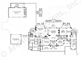 chateau floor plans chateau di lanier european house plan luxury house plan