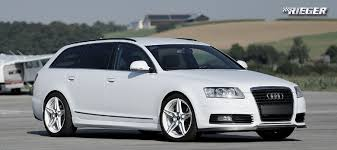 audi kits a6 kit styling audi a6 c6 avant 2009 2011 rieger tuning