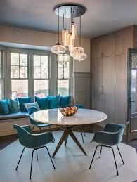 chandelier lighting illuminates massachusetts dining room