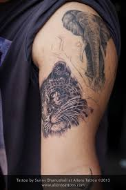 leopard tattoo on behance