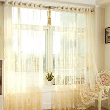 Yellow Sheer Curtains Yellow Curtains Sheer 7 Best Sheer Curtain Images On Printed