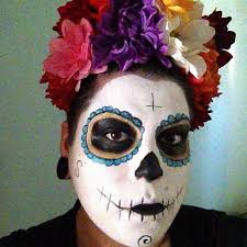 day of the dead headband 15 floral crowns for dia de los muertos babble