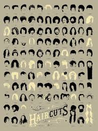 best hairstyles with their names infographic of the day 108 of the best haircuts in music history