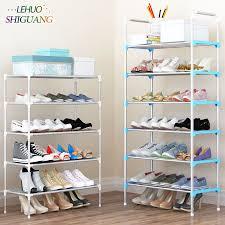 room organizer shoe rack easy assembled plastic layers shoes shelf