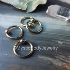 tiny hoop gold earring hoop helix small from junelittleshop on