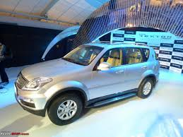 mahindra launches the ssangyong rexton 17 67 19 67 lacs team bhp