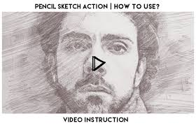 pencil sketch photoshop action by eugene design graphicriver