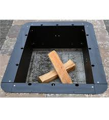 Firepit Liner Rectangular Pit Insert 24 X 36 Pits
