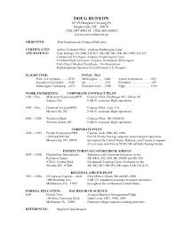 pilot resume template helicopter pilot resume template best of pilot resumes pilot resume