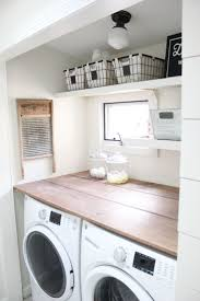 best 25 farmhouse laundry rooms ideas on pinterest laundry room a budget friendly farmhouse laundry room that s small yet makes a large impact