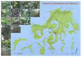 Map Of U Maps Of Vava U0027u And Surrounding Islands Whales Of Tonga