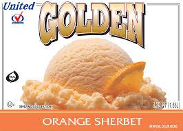 golden orange color orange sherbet u2013 uniteddairy