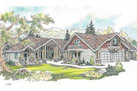 chalet cabin plans house plan beautiful canadian house plans with walkout basements