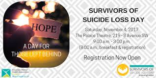 13th annual survivors of loss day s story cmha