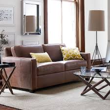 Leather Sofa Color Henry Leather Sofa 76 West Elm