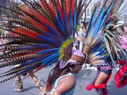 imagenes penachos aztecas esime generación 57 60 dia de muertos 2009